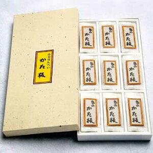 林盛堂本店:越中八尾「かた板(45袋入箱)」