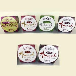 欧風食堂サラマンジェフ:越前プレミアム水ようかん(6個入)(クール冷凍便)