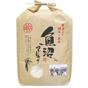田中米穀:新潟より精米・直送「令和1年産 魚沼産コシヒカリ 5kg」