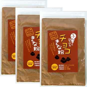 タクセイ:驚きの食感「とろけるきな粉 チョコ 60g×3個」