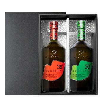 エコファームみかた:甘くない梅酒「BENICHU 38゜×BENICHU20゜梅酒 飲み比べセット(300ml×2本)」