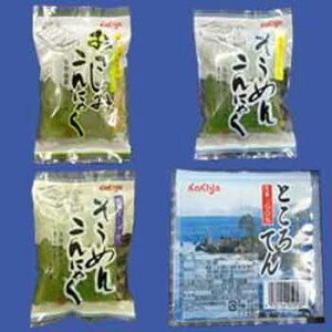 ※季節商品※柿谷商店:ふるさと商品「越前涼味こんにゃく・ところ天 2セット」