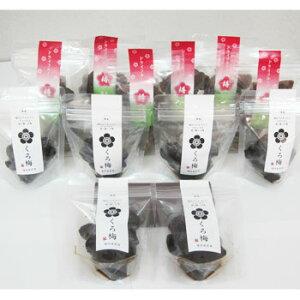 若狭物産協会:「ドライフルーツ梅・くろ梅セット(ハーフケース)」甘い梅とすっぱい梅を両方。