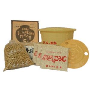 大本山永平寺御用達 味噌の米五「手作り味噌セット 桶付」