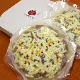 四季のテーブル:ひゃくまん穀アッフルじぶライスピザセット APK-2 鴨(大21cm×2枚入)クール冷凍便