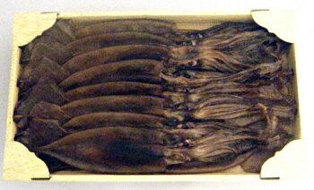 西海水産:能登の手作り伝統と自然の味「丸干しいか 500g」(クール冷凍便)