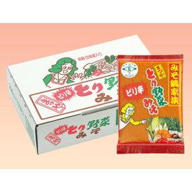 まつや:「とり野菜みそピリ辛 1箱(12袋入)」石川県で人気の鍋みそ