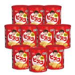 福井日之出屋:備えて安心「グリコビスコ5年保存缶」10個セット