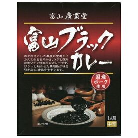 「富山ブラックカレー 180g×6箱」薬膳富山はくすりの広貫堂