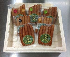 なんとポーク「なんとソーセージ詰め合わせ 4000B」(クール冷蔵便)南砺市産豚肉使用 富山の肉を富山で加工