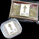 奥田屋:白えび お刺身2点ギフトセット(お刺身&おぼろ昆布締め)クール冷凍便
