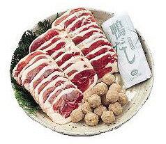 【送料込み】大平産業:合鴨肉をご家庭で簡単に!「合鴨鍋セット OF-50」(代引不可・クール冷凍便)