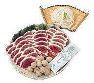 【送料込み】大平産業:合鴨肉をご家庭で簡単に!「合鴨鍋セット OF-60」(代引不可・クール冷凍便)