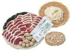 【送料込み】大平産業:合鴨肉をご家庭で簡単に!「合鴨鍋セット OF-80」(代引不可・クール冷凍便)