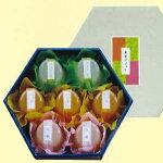 京伏見菓匠和晃「果実のジュレ7個入」3種のジュレ詰め合わせ※季節商品※