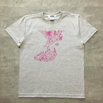 amycco.文鳥(ブンチョウぶんちょうbuncho)Tシャツ#3「バリで遊ぶ文鳥」メンズ綿100%全3色