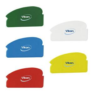 ヴァイカン オリジナルスクレーパー 4051・緑 生地の加工、食材の除去にはコレ (10枚入り) 業務用