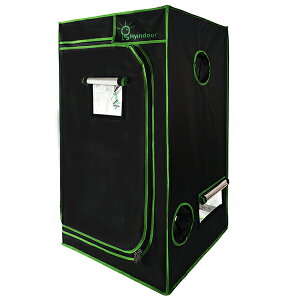 【送料無料】LS Hyindoor 80*80*160cm 室内水耕栽培 植物育成 グロウボックス 安全遮光なグロウテント 高品質 温室