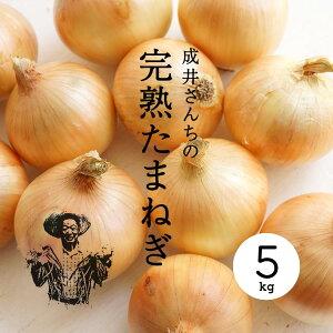 【産地直送】成井さんちの完熟たまねぎ 5kg|のしギフト不可【淡路島オニオンクラブ】