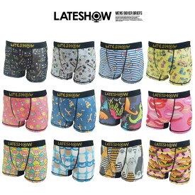 LATESHOW レイトショー ボクサーパンツ 下着 メンズ 【GAL】【MB】■05160914