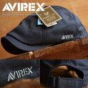 AVIREX アヴィレックス ハンチングキャップ メンズ 制菌 帽子 AX3F207901【TOK】■05170522