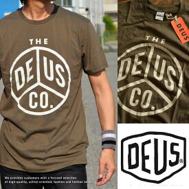 正規品 Deus ex Machina デウス エクス マキナ Tシャツ メンズ ロゴプリント DMS71184F■02170714