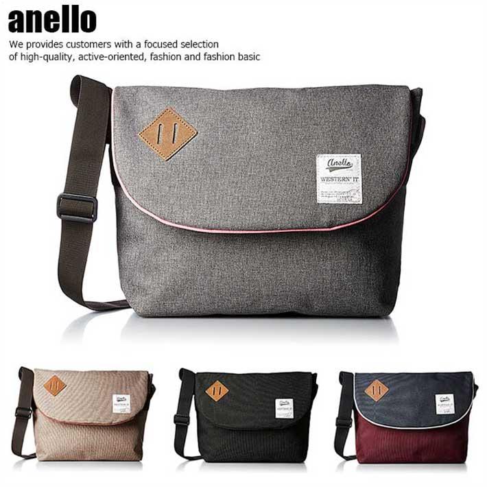 anello アネロ メッセンジャーバッグ ショルダーバッグ バッグ メンズ レディース AU-A0132 SD4308180【SD】■180318