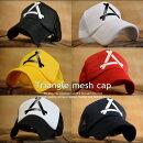 最安値に挑戦Triangleメッシュキャップメンズレディース7996355帽子新品【ALI】■02170817