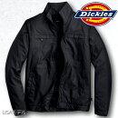 USAモデルジャケットメンズブランドDickiesディッキーズ中綿撥水軽量トラックジャケットブラック黒TJH242181025