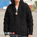 kanataカウチンセーターkanataカウチンメンズレディースカナタカナダ製手編みジャケットアウターTALON製ZIPPERメーカー正規代理店100%ウールセーターメンズレディース7994137181009