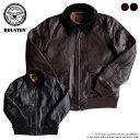 ジャケット メンズ ブランド 正規品 HOUSTON G-1 ミリタリージャケット レザージャケット U.S.AIRFORCE アメカジ メン…