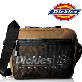 91e72733b15a ショルダーバッグ dickies ディッキーズ ブランド 送料無料 メッセンジャーバッグ キッズ レディース メンズ メッセンジャー 17912000  72 茶色 ブラウン ロゴ ...