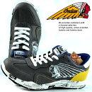スニーカーシューズ靴メンズブランドIndianMotocycleレノックスLenox軽量幅広IND-11506ダークグレー灰190720