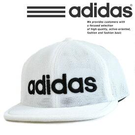 adidas アディダス メッシュキャップ キャップ 帽子 メンズ レディース ブランド キャップ 吸湿速乾 186-111-851 ホワイト 白