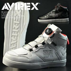 【送料無料】AVIREX ブーツ スニーカー メンズ ブランド アヴィレックス アビレックス ディクティター DICTATOR レディース ミドルカット カジュアルシューズ バイカーシューズ Y_KO AV2278