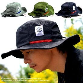 釣り 帽子 サファリハット メンズ ハット レディース 送料無料 大きいサイズあり 大きめ 撥水 UVカット アドベンチャーハット 帽子 メンズ 父の日 贈り物 プレゼント NEK H-051 H-053 ユニセックス 男女共用 春 夏 夏フェス アウトドア 登山 キャンプ