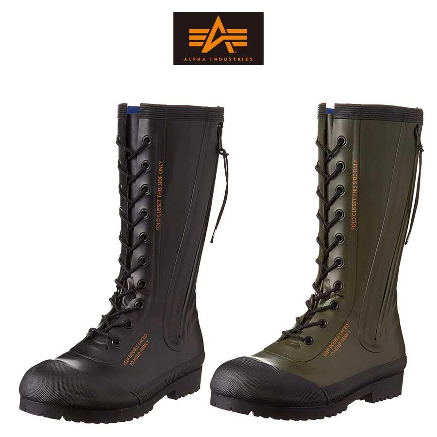 Alpha Industries アルファ インダストリーズ レインブーツ 長靴 メンズ レディース AF_SV01【SHA】 【Y_KO】