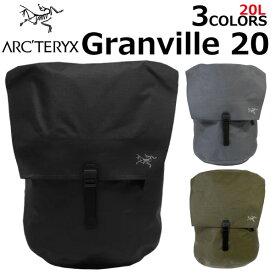 ARCTERYX アークテリクス Granville20Backpack グランヴィル20バックパックバックパック リュックサック メンズ レディース A3 20L ブラック 18096プレゼント ギフト 通勤 通学 送料無料