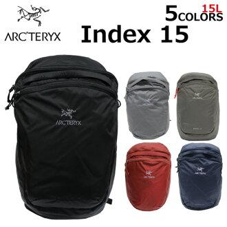 참가 신청으로 포인트 3~최대 16배!9/5 23:59까지 ARCTERYX 아크테리크스 Index 15 Backpack 인덱스 15 박크팍크리크리크삭크데이팍크밧그레디스멘즈 18283 선물 기프트 통근 통학