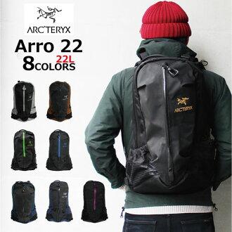 ARCTERYX / Arc'Teryx 阿 22 箭头背包 / 帆布背包 6029 黑色的一天 / 包 / 袋男子 / 女子黑色 / 黑色