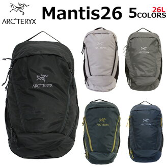 ARCTERYX アークテリクス MANTIS 26 man Thijs 26 backpack rucksack rucksack men gap Dis A4 26L 7715 BLACK II black 2 present gift commuting attending school