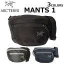 ARCTERYX アークテリクスMANTIS 1 マンティス1ボディバッグ ウエストバッグ バッグ メンズ レディース ブラック 1.5L …