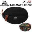 GREGORY グレゴリー TAILMATE XS V2 テールメイト XS V2 ウエストバッグヒップバッグ ボディバッグ バッグ 斜めがけ …
