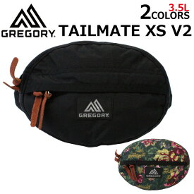 GREGORY グレゴリー TAILMATE XS V2 テールメイト XS V2 ウエストバッグヒップバッグ ボディバッグ バッグ 斜めがけ メンズ レディース 3.5L 119653プレゼント ギフト 通勤 通学 送料無料