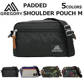 GREGORY グレゴリー PADDED SHOULDER POUCH M パデッドショルダーポーチ M ショルダーバッグミニバッグ バッグ ポーチ レディース メンズ 2.5L 65380 1041プレゼント ギフト 通勤 通学 送料無料