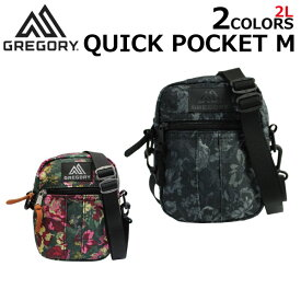 GREGORY グレゴリー QUICK POCKET M クイックポケット M ショルダーバッグミニバッグ バッグ ポーチ レディース メンズ 2L 65467-0511プレゼント ギフト 通勤 通学 母の日