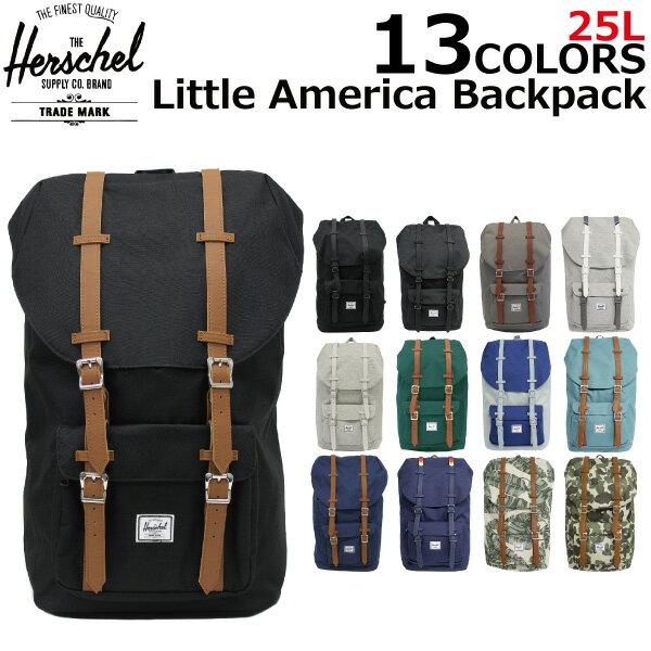 HERSCHEL SUPPLY ハーシェルサプライ Little America Backpack リトルアメリカバックパックリュックサック デイパック バッグ カバン 鞄 メンズ レディース 25L B4 10014プレゼント ギフト 通勤 通学 送料無料