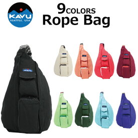 KAVU カブー Rope Bag ロープバッグボディバッグ ワンショルダーバッグ 923プレゼント ギフト 通勤 通学 送料無料