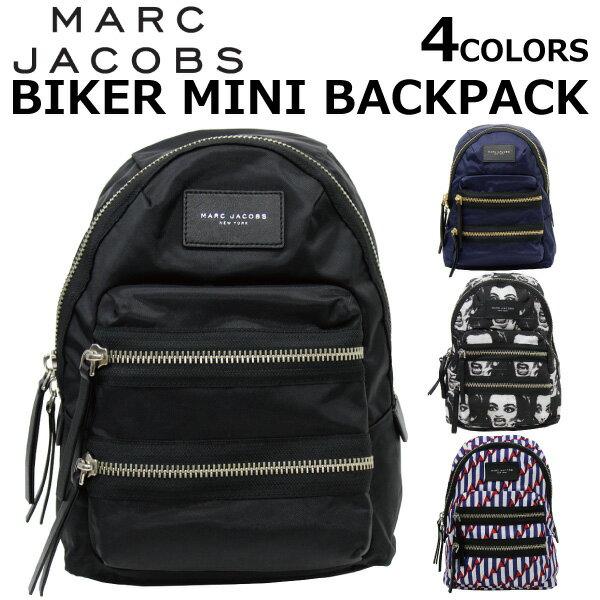 MARC JACOBS/マークジェイコブス BIKER MINI BACKPACKリュックサック/バックパック/カバン/鞄 カジュアル レディース プレゼント/ギフト/通勤/通学/送料無料
