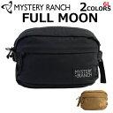 MYSTERY RANCH ミステリーランチ FULL MOON フルムーンボディバッグ バッグ メンズ レディース 6.3L ブラック コヨー…